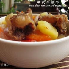 中式牛尾罗宋汤