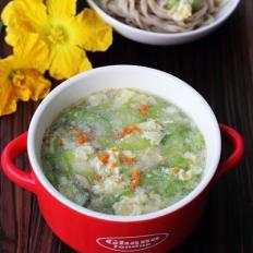 海胆丝瓜汤