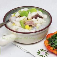 蟹珍芋艿丝瓜汤