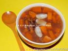 紫米鲜百合木瓜甜汤