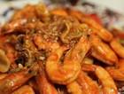 蒜香红烧虾