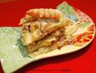 葱香海鲜饼