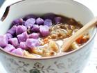 银耳绿豆紫薯芋圆