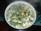 牡蛎蘑菇豆腐羹