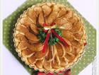 圣诞节肉桂苹果派