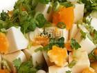 咸蛋黄拌豆腐