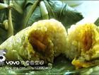 绿豆蛋黄粽子