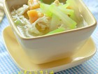 咸蛋干贝葫子汤