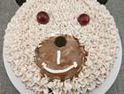 小熊生日蛋糕