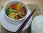 咖喱什锦墨鱼菜