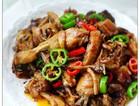 茶树菇干锅鸡