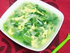 香菜银鱼鸡蛋汤
