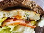 土豆素三明治