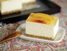 蜜桃冻芝士蛋糕