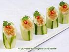 豆腐酿青瓜