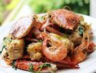 非油炸版椒盐虾蟹
