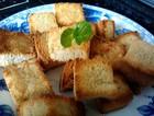 蜂蜜烤面包丁