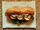 鲔鱼法棍三明治