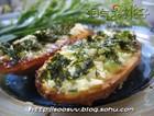 蒜香海苔烤法棍
