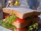 简易自制三明治