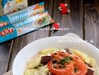 鲜汤烩三色豆腐
