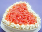 酸奶西柚慕斯蛋糕