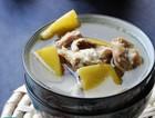 柚皮炖羊肉