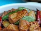 红烧豆腐鸡丁