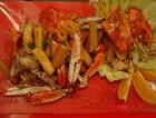 地瓜酒香蟹