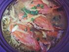 塔吉锅梭子蟹