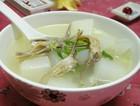萝卜鸭舌汤