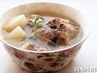 牛尾炖白萝卜汤