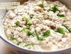 臭豆腐蒸肉饼