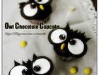 猫头鹰巧克力蛋糕