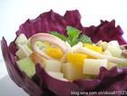 彩椒鱿鱼蔬菜包