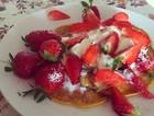 美式草莓松饼