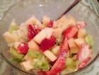 草莓苹果沙拉