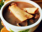 眉豆发菜猪骨汤