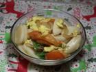 鸡蛋西红柿炒年糕