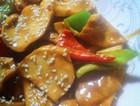 腊八蒜炒杏鲍菇