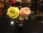 玫瑰花牛奶馒头