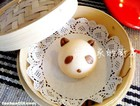 牛奶小熊猫馒头