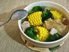 粟米腐皮排骨汤