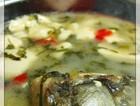 雪菜鱼头豆腐汤