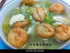 冻豆腐生菜鸡汤