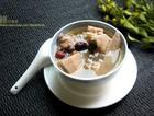 榴��壳煲土鸡汤