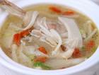 冬季补身汤菌菇炖鸡汤