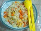 香肠胡萝卜蛋炒饭