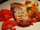 叉烧烤三文鱼