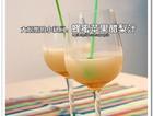 鲜榨蜂蜜苹果醋梨汁
